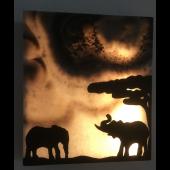 """Wandbild Afrika """"Elefanten"""""""