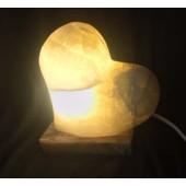 Herzlampe weiss