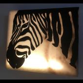 """Wandbild Afrika """"Zebra"""""""